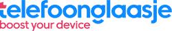 Telefoonglaasje logo