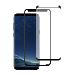 Samsung Galaxy S8 Plus Case friendly screenprotector gehard glas - Telefoonglaasje