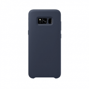 Samsung Galaxy S8 back case darkblue - siliconen