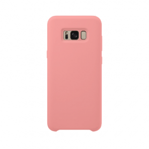 Samsung Galaxy S8 back case pink - siliconen
