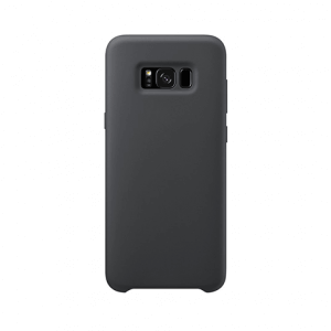 Samsung Galaxy S8 back case black - siliconen