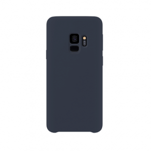 Samsung Galaxy S9 back case darkblue - siliconen