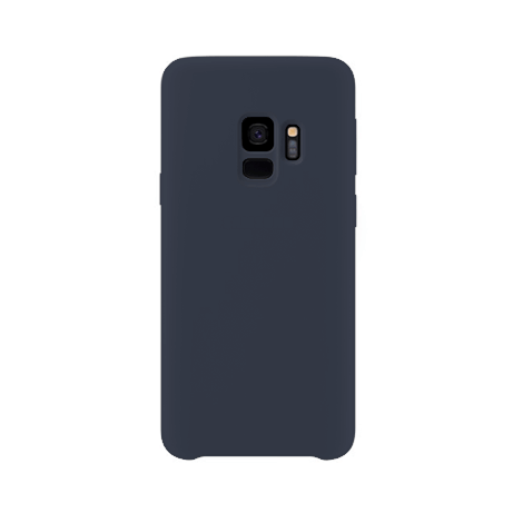 Samsung Galaxy S9 back case darkblue - siliconen