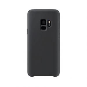 Samsung Galaxy S9 back case zwart - siliconen