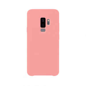 Samsung Galaxy S9 Plus back case pink - siliconen