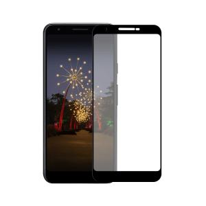 Google Pixel 3a screenprotector gehard glas - Edge to Edge - Telefoonglaasje