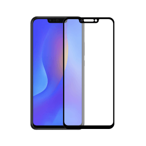 Huawei P Smart Plus 2018 screenprotector gehard glas - Edge to Edge - Telefoonglaasje