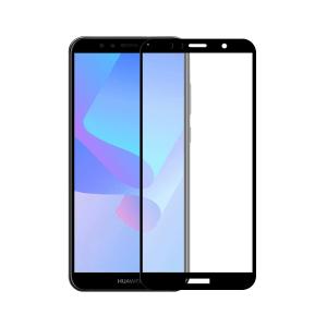 Huawei Y6 2018 screenprotector gehard glas - Edge to Edge - Telefoonglaasje