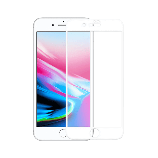 iPhone 8 Plus screenprotector gehard glas - Edge to Edge - Telefoonglaasje