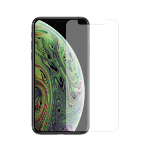 iPhone XS screenprotector gehard glas - Standard Fit - Telefoonglaasje
