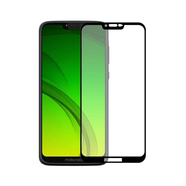 Motorola Moto G7 Power screenprotector gehard glas - Edge to Edge - Telefoonglaasje
