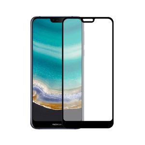 Nokia 7.1 screenprotector gehard glas - Edge to Edge - Telefoonglaasje