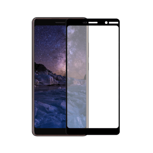Nokia 7 Plus screenprotector gehard glas - Edge to Edge - Telefoonglaasje