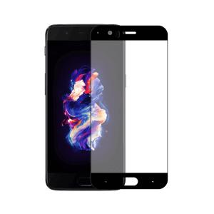 OnePlus 5 screenprotector gehard glas - Edge to Edge - Telefoonglaasje