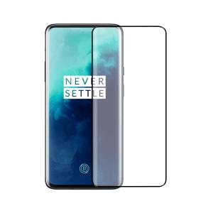 OnePlus 7T Pro screenprotector gehard glas - Edge to Edge - Telefoonglaasje