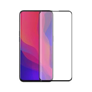 OPPO Find X screenprotector gehard glas - Edge to Edge - Telefoonglaasje