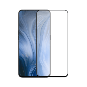OPPO Reno screenprotector gehard glas - Edge to Edge - Telefoonglaasje
