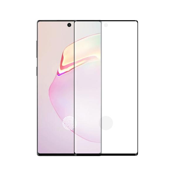 Samsung Galaxy Note 10 Plus screenprotector gehard glas - Edge to Edge - Telefoonglaasje