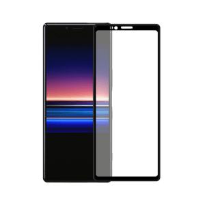 Sony Xperia 1 screenprotector gehard glas - Edge to Edge - Telefoonglaasje