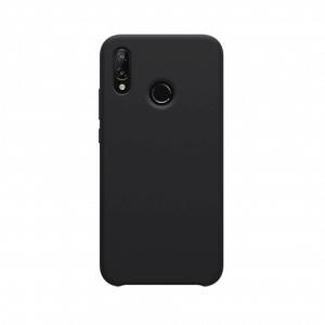 Huawei P20 Lite siliconen back case - Zwart