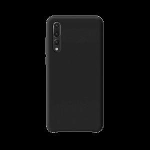 Huawei P20 Pro siliconen back case - Zwart