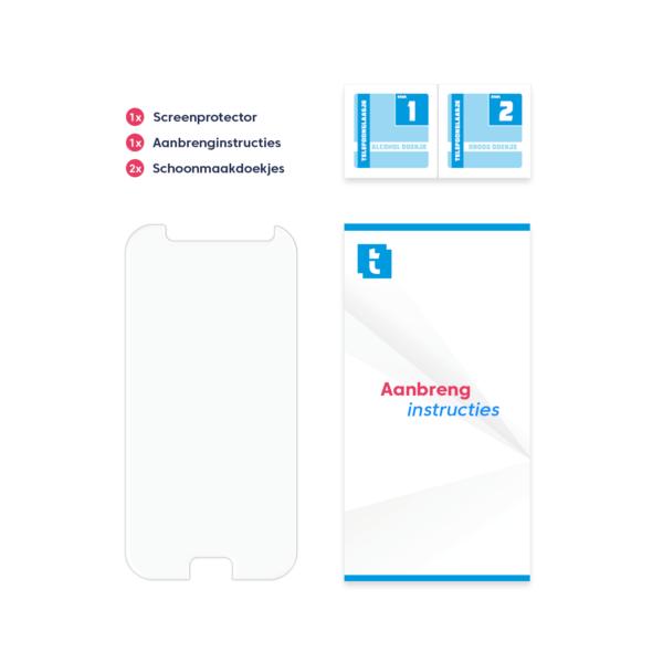 Inhoud verpakking Samsung Galaxy A5 2017 screenprotector Standard Fit