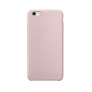 iPhone 6 / 6s siliconen back case - pink sand