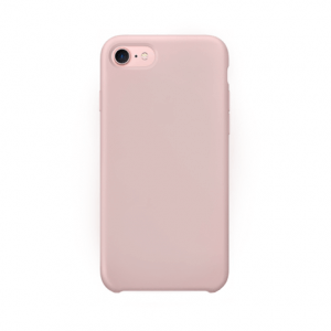 iPhone 7 siliconen back case - pink sand