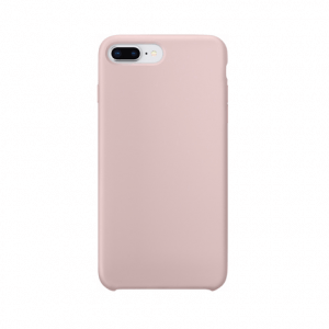 iPhone 8 Plus siliconen back case - pink sand