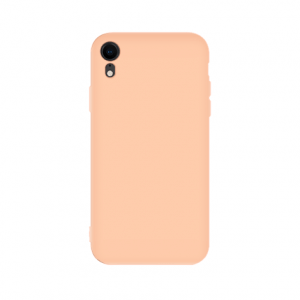iPhone XR tpu back case - pink