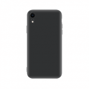 iPhone Xr tpu back case - Zwart