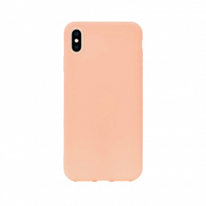 iPhone Xs Max tpu back case - pink