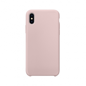 iPhone XS siliconen back case - Pink Sand