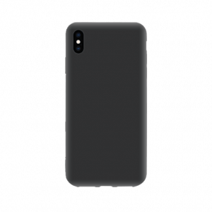 iPhone Xs tpu back case - Zwart