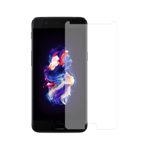 OnePlus 5 screenprotector gehard glas - Standard Fit - Telefoonglaasje