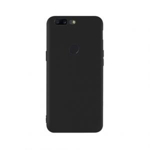 OnePlus 5T tpu back case - Zwart