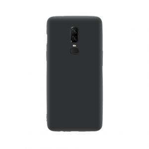 OnePlus 6 tpu back case - Zwart