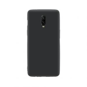 OnePlus 6T tpu back case - Zwart