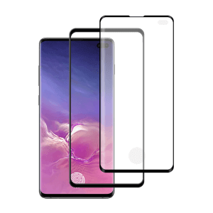 Samsung Galaxy S10 Plus Case friendly screenprotector gehard glas - Telefoonglaasje