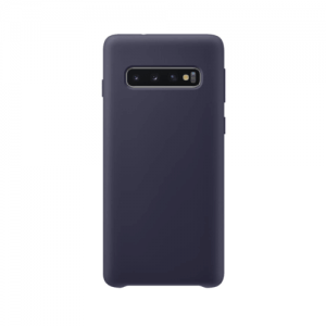 Samsung Galaxy S10 back case darkblue - siliconen