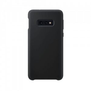 Samsung Galaxy S10e back case black - siliconen