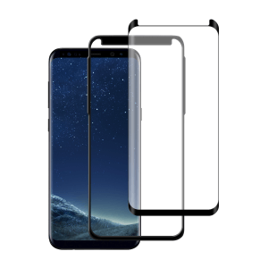 Samsung Galaxy S8 Case friendly screenprotector gehard glas - Telefoonglaasje