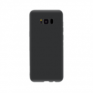 OnePlus S8 tpu back case - Zwart