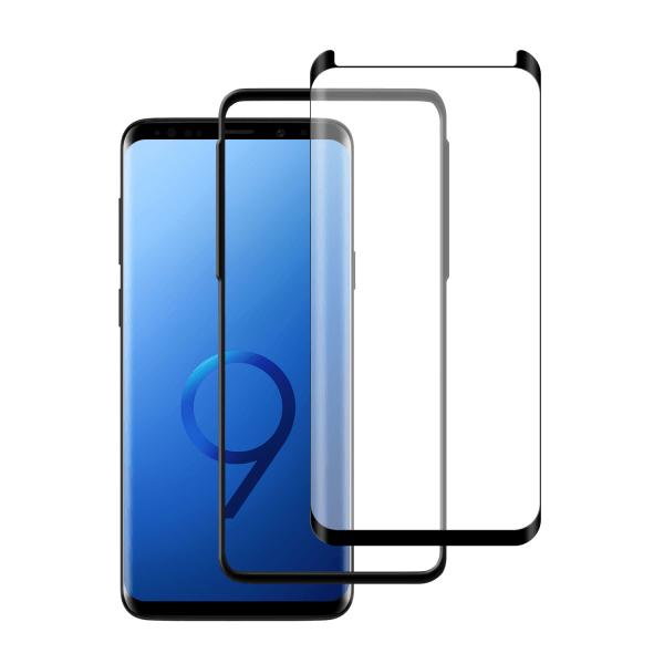 Samsung Galaxy S9 Case friendly screenprotector gehard glas - Telefoonglaasje