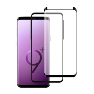Samsung Galaxy S9 Plus Case friendly screenprotector gehard glas - Telefoonglaasje
