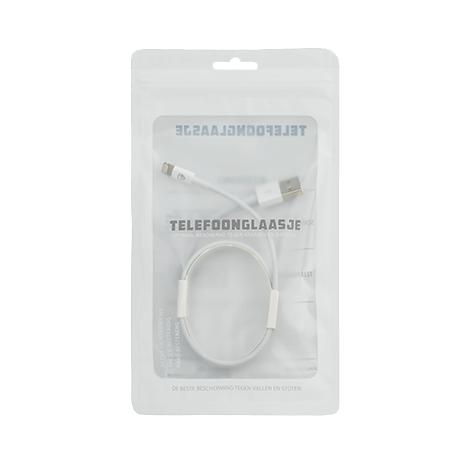 Verpakking USB naar Lightning 1 meter - Telefoonglaasje