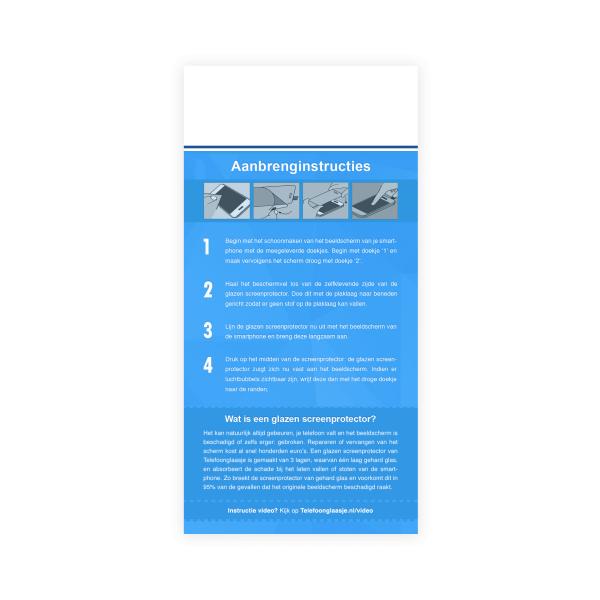 Instructies Standard Fit screenprotector - Telefoongaasje