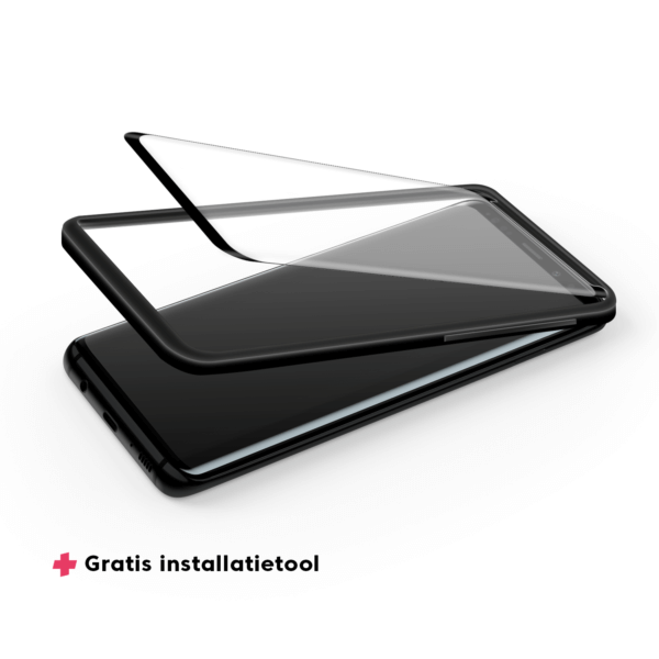 Galaxy S9 screenprotector met aanbrengtool