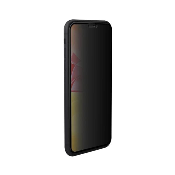 Linkerzijde iPhone 11 privacy screenprotector - Edge to Edge