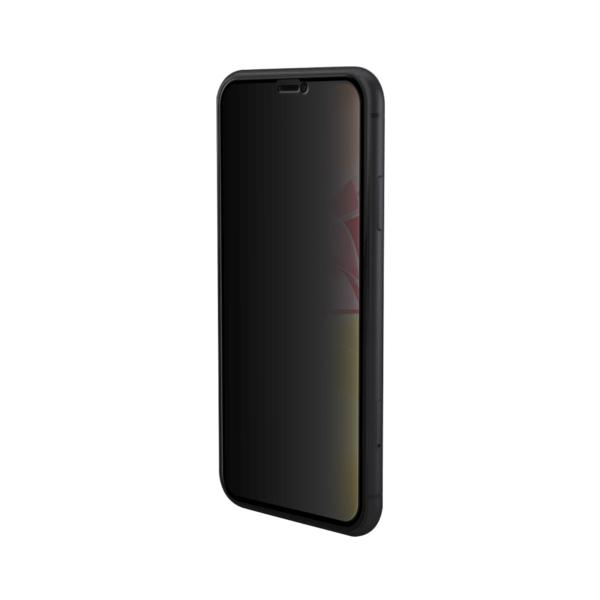 Rechterzijde iPhone 11 privacy screenprotector - Edge to Edge